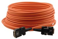 Kramer C-FODM/FODM-328 Fiber Optic/DVI Hybrid Cable with Converters