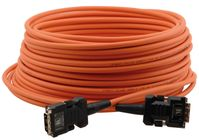 Kramer C-FODM-FODM-33 Fiber Optic/DVI Hybrid Cable with Converters