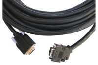 Kramer CP-GM-GM-XL-100 15-pin HD Cable 45˚ Side-Angled Connector
