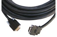 Kramer CP-GM-GM-XL-50 15-pin HD Cable 45˚ Side-Angled Connector