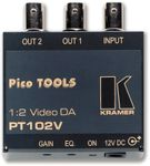 Kramer PT-102V 1X2 Video Distribution Amplifier