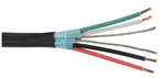 Liberty Cable 22-2P-PINDSH-BLK Commercial Grade General Purpose 22 AWG