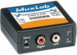 MuxLab 500088 Digital to Analog Audio Converter and Downmixer