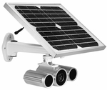NTI E-IPCAM-SWHNO Solar-Powered HD Day/Night Outdoor IP Camera