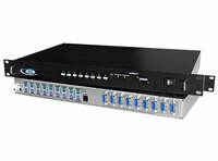 NTI KEEMUX-P8-R PS/2 KVM Server Switch w/OSD and RS232 Control Options