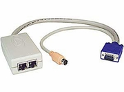 NTI PRIMUX-UZR VGA KVM Switch via CAT5 - USB, PS2, SUN, Serial