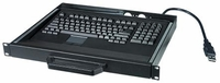 NTI RACKMUX-KT-LC Low Cost PS/2 Rackmount Keyboard Mouse Drawer