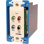Intelix AVO-V3AD-WP-F Cat-5 Digital Audio and HD Video Balun Wallplate