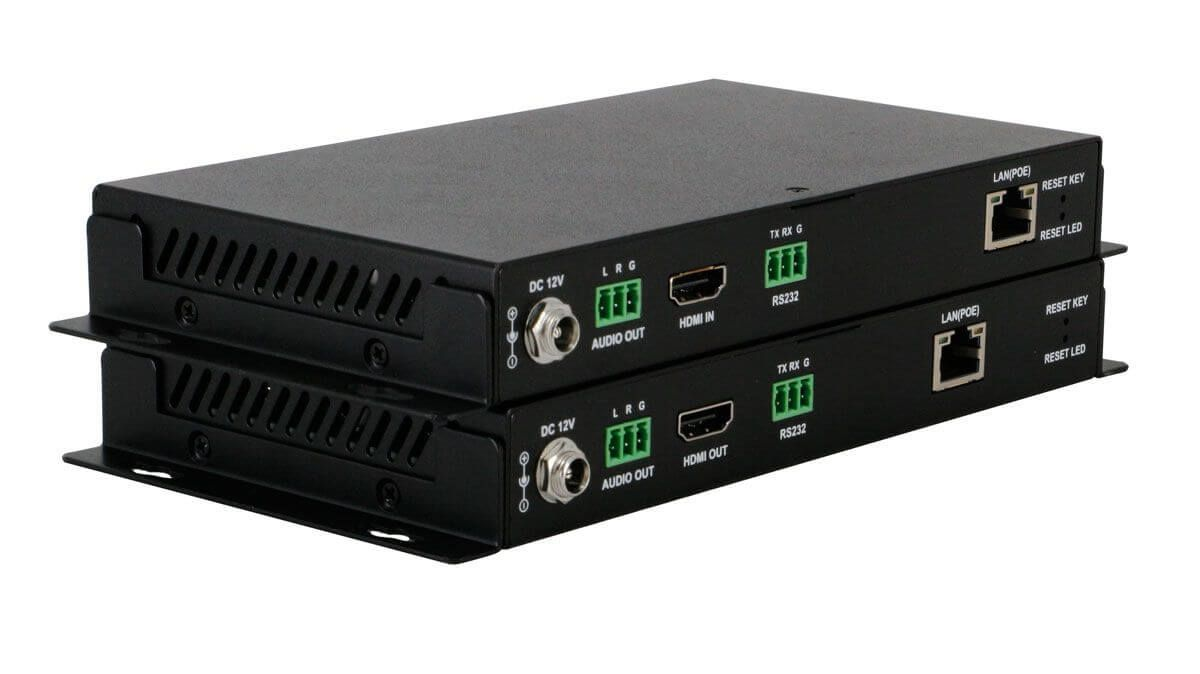 POE 12x24 HDMI Over IP Matrix Switcher w/Real Time iPad Video Preview