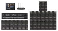 POE 20x46 HDMI Over IP Matrix Switcher w/iPad Real Time Video Preview