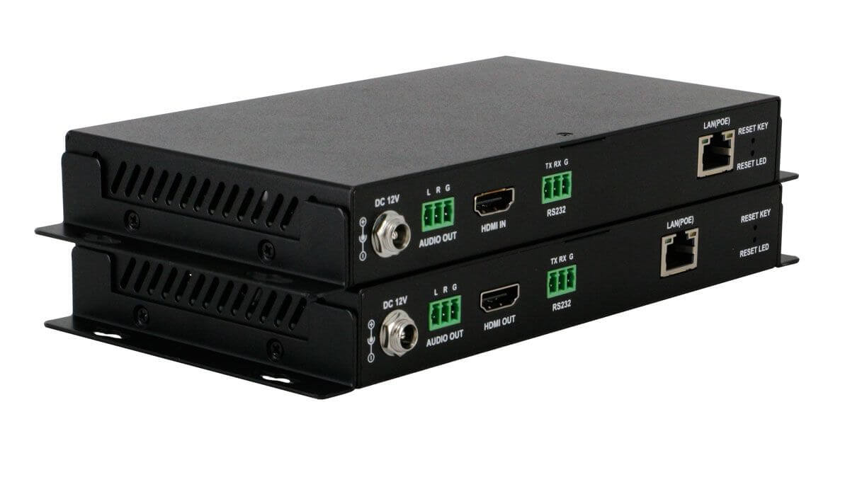 POE 24x28 HDMI Over IP Matrix Switcher w/Real Time Video Preview