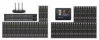 POE 24x30 HDMI Over IP Matrix Switcher w/Real Time iPad Video Preview