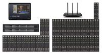 POE 24x42 HDMI Over IP Matrix Switcher w/iPad Real Time Video Preview