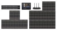 POE 28x50 HDMI Over IP Matrix Switcher w/iPad Real Time Video Preview