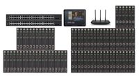 POE 32x46 HDMI Over IP Matrix Switcher w/iPad Real Time Video Preview