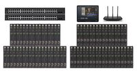 POE 36x36 HDMI Over IP Matrix Switcher w/Real Time iPad Video Preview