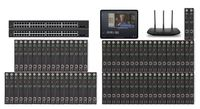POE 36x42 HDMI Over IP Matrix Switcher w/iPad Real Time Video Preview