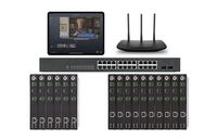 POE 6x10 HDMI Over IP Matrix Switcher w/Real Time iPad Video Preview