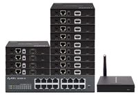 Up To 20-TVs - POE HDMI Over IP Matrix Switchers w/Video Preview