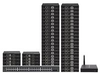 Up To 70-TVs - POE HDMI Over IP Matrix Switchers w/Video Preview