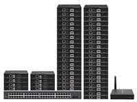 Up To 90-TVs - POE HDMI Over IP Matrix Switchers w/Video Preview