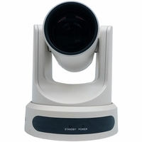 PTZOptics PT12X-NDI-WH 12X-NDI Broadcast and Conference Camera (White)