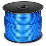 QVS 1000ft CAT6 Solid PVC Blue Bulk Cable