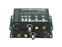Shinybow SB-2809 1 in and 1out S-Video/Composite + Audio Booster - BNC - TAA Compliant