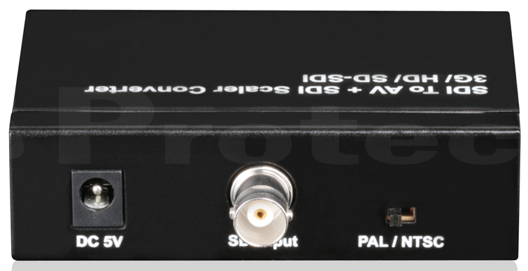 WolfPack SDI to AV with SDI Loop Out Converter Scaler
