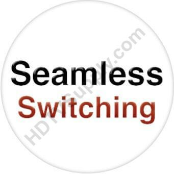 Seamless 12x4 HDMI Matrix Switcher w/100ms Switching, Scaling & Apps