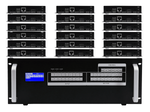 16x18 HDMI Matrix Switcher over CAT5 w/18-HDBaseT Receivers, Separate Audio & 100ms Switching