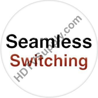 Seamless 8x8 HDMI Matrix Switcher over CAT5 w/8-HDBaseT Receivers & 100ms Switching