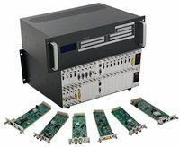 Seamless 9x9 HDMI Matrix Switcher w/100ms Switching, Scaling & Apps in an 18x18 Chassis