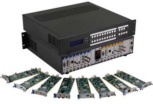 Seamless HDMI Matrix Switcher w/Video Wall Processors