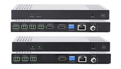 HDMI Matrix Switchers over IP w/Video Wall, POE, WEB GUI, Separate Audio & RS232 (24)