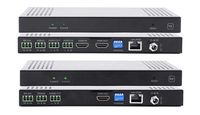 See 24-Different Preconfigured HDMI Matrix Switchers over IP w/Video Wall, POE, WEB GUI, Separate Audio & RS232