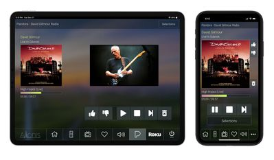 Sports Bar Pandora Music Add-on for a Tablet or Smart Phone