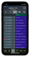 Sports Bar TV Guide Add-on for a Smart Phone