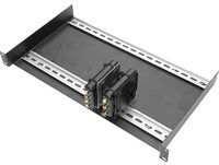 """Intelix DIN-RACK-KIT-F Standard 19"""" Rack Plate with Two 17"""" Mounted"""