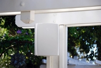 """SunBrite SB-AW-6-WHT 6.5"""" Outdoor Surface Mount Speakers - Pair"""