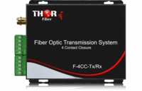 Thor Broadcast F-4CC-TxRx 4 Contact Closure or TTL over Fiber