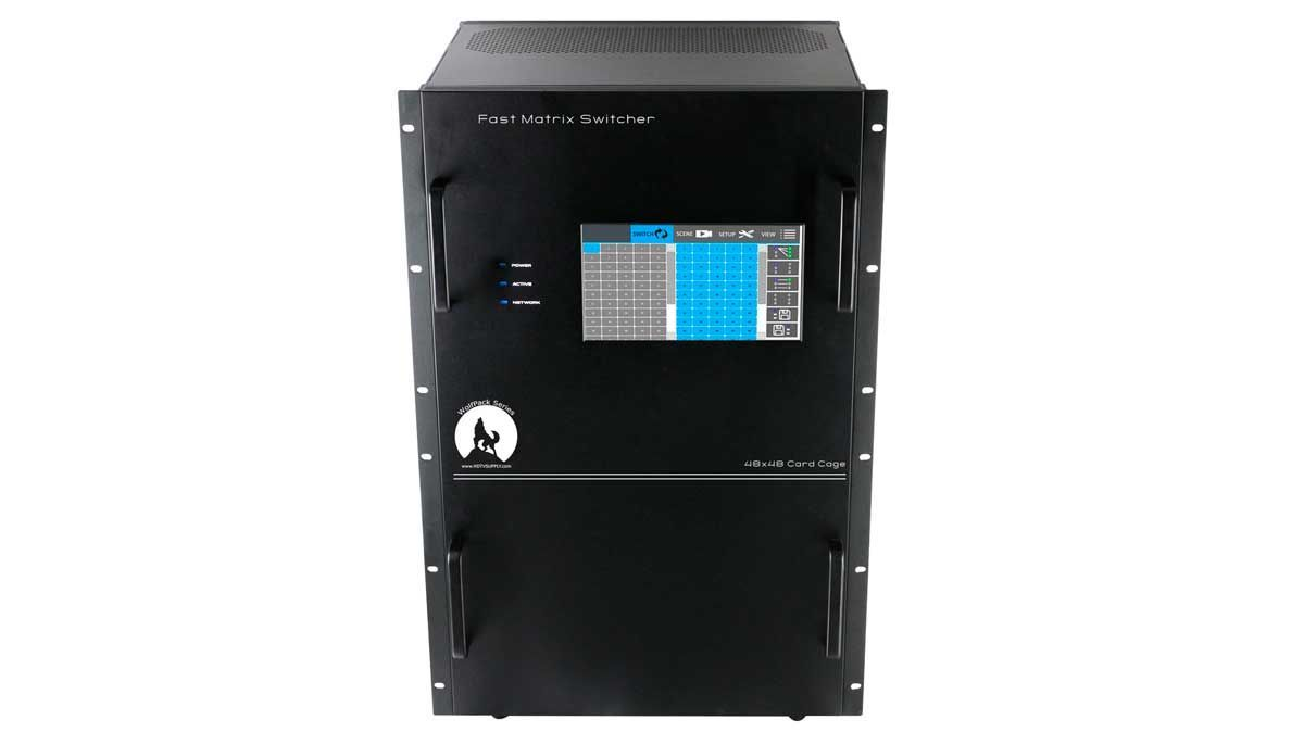 Trade In Value For WolfPack Empty 48x48 Modular Matrix Chassis