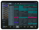 Sports Bar TV Guide Add-on for a Tablet