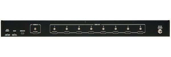 tvONE 1T-DA-678 UHD UHD 4K HDMI v1.4 Distribution Amplifier - 1x8