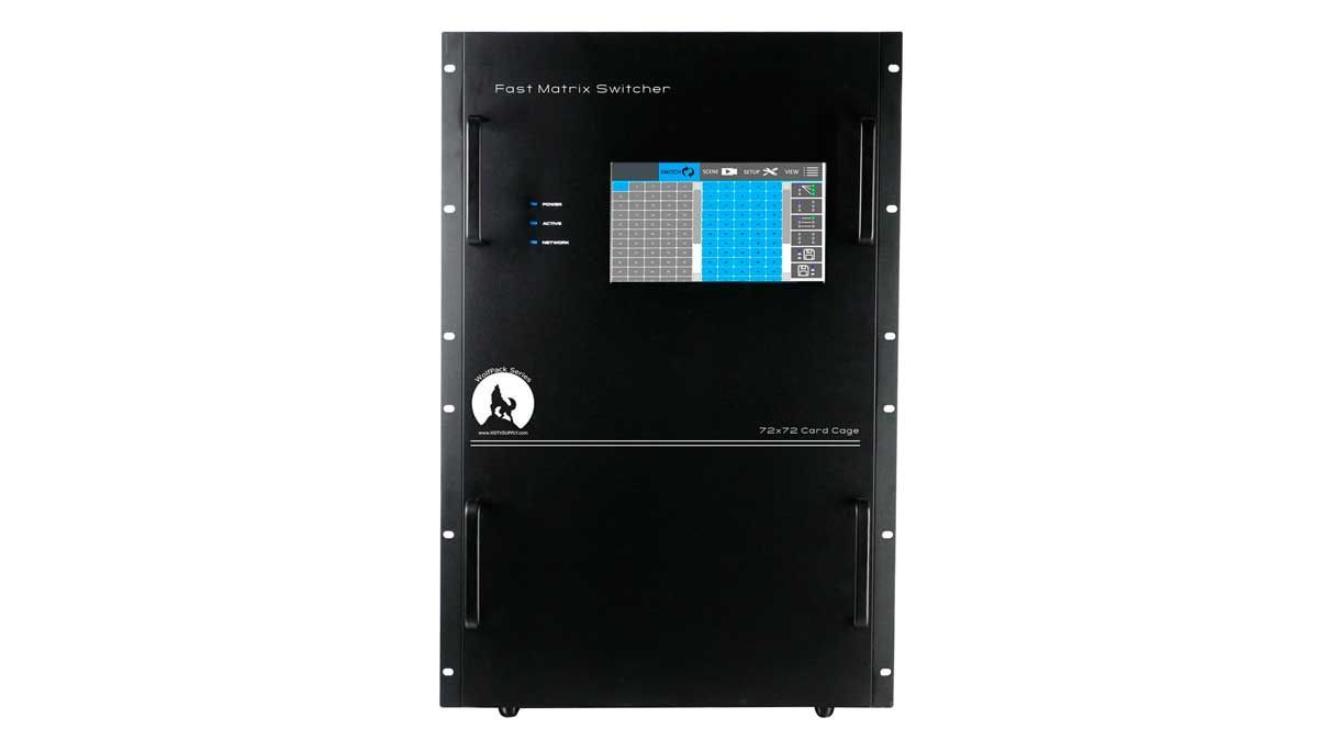 Used WolfPack Empty 80x80 Modular Matrix Chassis