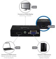 VGA and HDMI to HDMI Switch