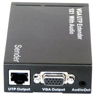 VGA Over CAT5 with Audio Extender Set & VGA Pass-through