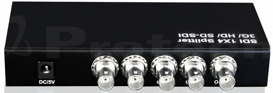 WolfPack 1x4 SDI Distribution Amp with OFF/ON Switch - 5 Year Warranty