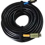 WolfPack 33 Foot HDMI Cable with Booster - HUGE 24 Gauge w/4K, HDR, HDMI 2.0a & HDCP 2.2 Compliantcy