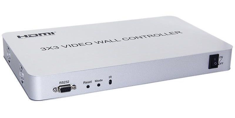 WolfPack 3x3 HDMI Video wall controller